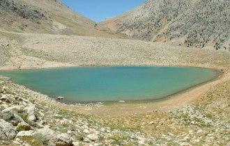 Akdaglar Bergkette–Gömbe Alm–Yesilgöl Kratersee